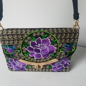 Embroidered Mexican Shoulder Bag
